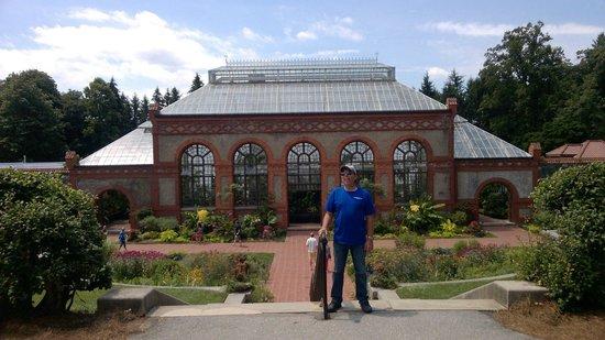 Biltmore Estate : the greenhouse