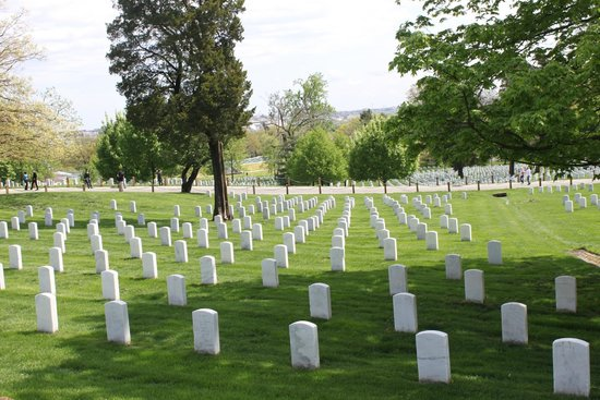 Arlington National Cemetery: The headstones standing like soldiers at attention