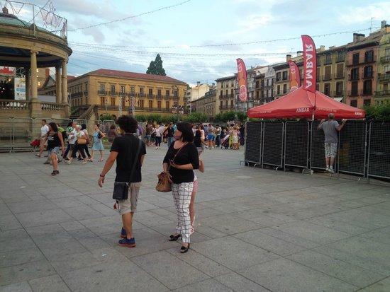 Plaza del Castillo - San Firmino 2014