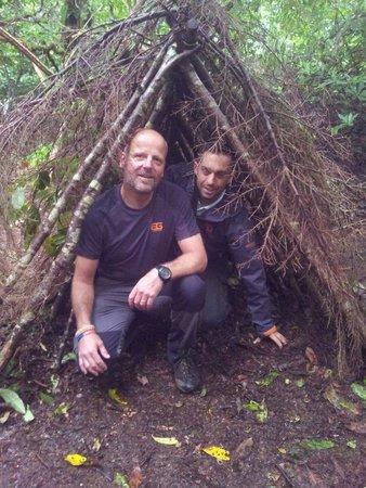 Dragon Raiders Activity Park: Making shelters
