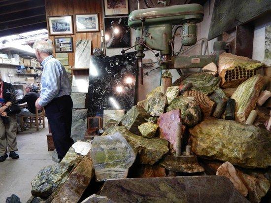 Connemara Marble Visitor's Center : Lecture Area