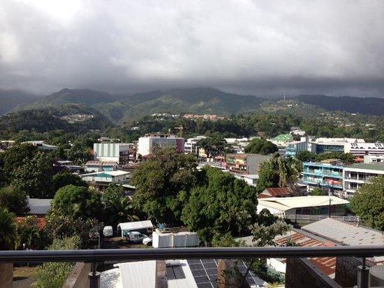 Hotel Tahiti Nui : Balcony