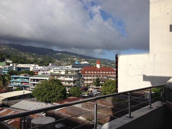 Hotel Tahiti Nui : balcony view