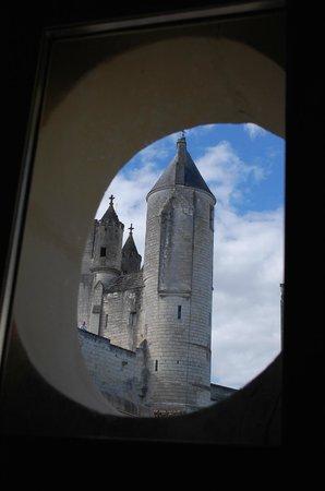 La Maison de l'Argentier du Roy: View from a window of the gite