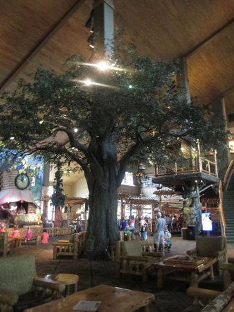 Great Wolf Lodge Grapevine : Lobby