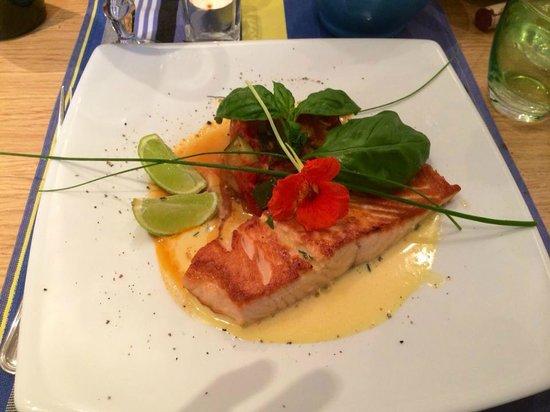 Le Citronnier : salmon entree