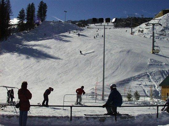 Polaris Lodge: Downhill