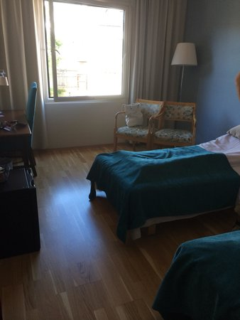 Quality Hotel Grand Farris: Rommet