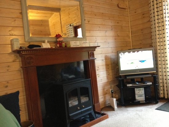 Darwin Forest Country Park: Inside out lodge