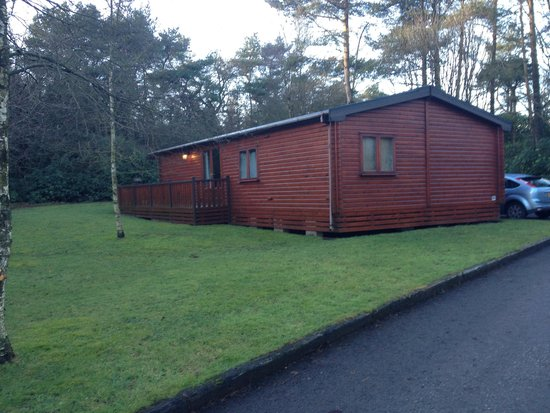 Darwin Forest Country Park: Beautiful lodge