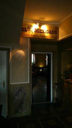 El Mexicano: Eingang innen - bienvenido!