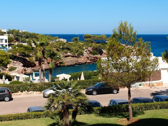 Inturotel Cala Esmeralda: View from Room 112.