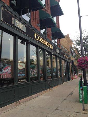 Cossetta's Italian Market & Pizzeria: Facade
