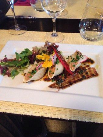 Resto Bistro Oliver : Pâte au rillettes de sardine