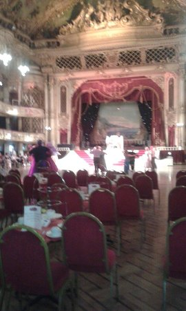 The Blackpool Tower Ballroom: Beautiful