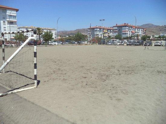 Iberostar Málaga Playa: Junto al hotel