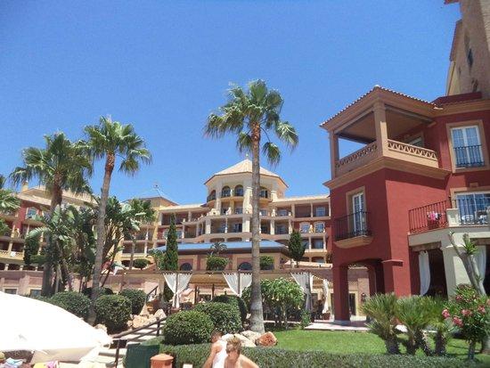 Iberostar Málaga Playa: Vista del hotel