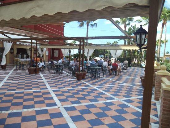 Iberostar Malaga Playa: Terraza