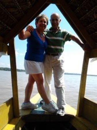 Amazon Camp Lodge: Navegando en el rio Nanay