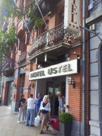 Floris Ustel Midi: Entr'e hotell Ustel