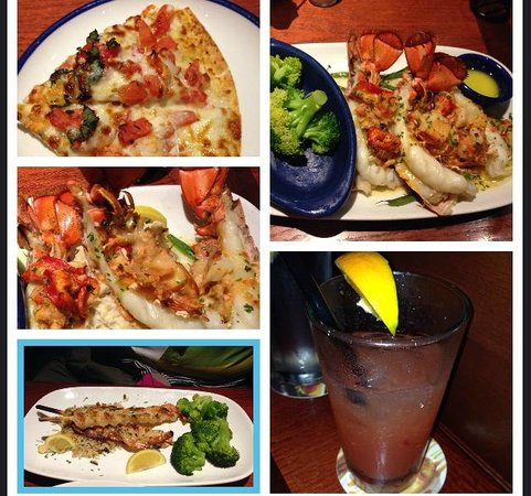 Red Lobster: collage