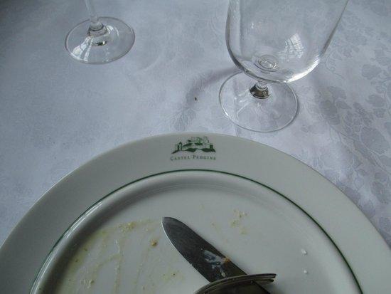 Castel Pergine : piatti nobiliari