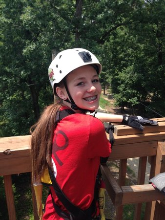 Kersey Valley Zip Line : Caitlin