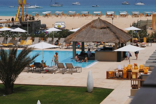 Hotel Oasis Salinas Sea: Paisagem favoravel
