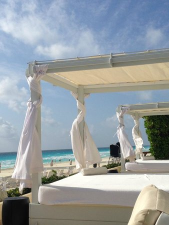 Live Aqua Beach Resort Cancun: another view from daybed