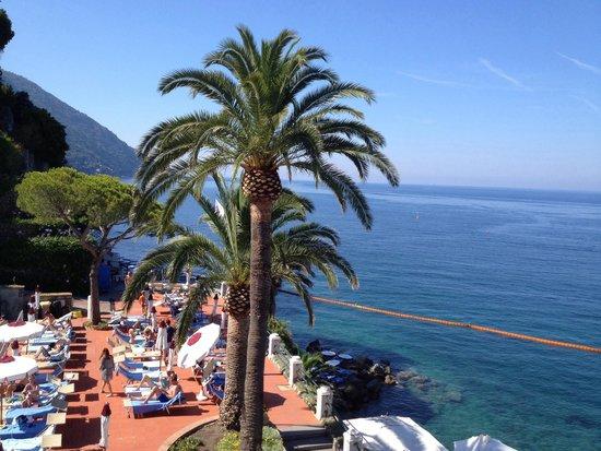Hotel Cenobio Dei Dogi : Blick aus unserem Zimmer 136. morgens Mittag und abends zum Weinen schön