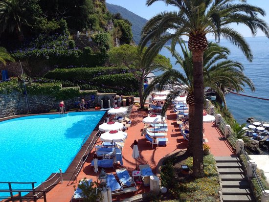 Hotel Cenobio Dei Dogi : Blick aus unserem Zimmer 136