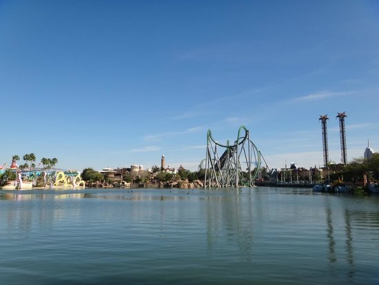 Universal's Islands of Adventure: Montanha russa do Hulk