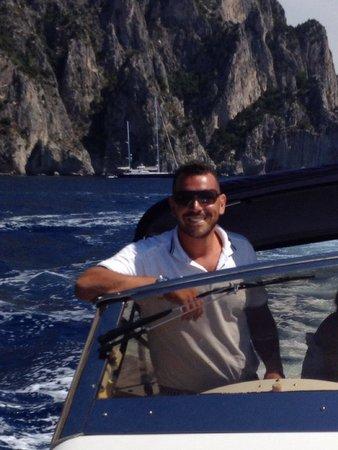 Noleggio barche Lucibello: Capitano Salvatore