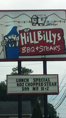 Hillbilly's Barbeque & Steaks: Great Que