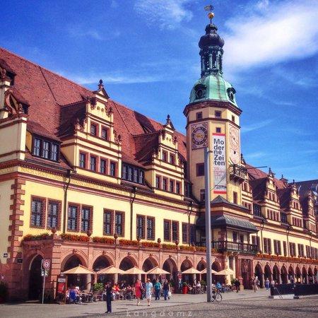 Antiguo ayuntamiento (Altes Rathaus): Old City Hall ~ Leipzig