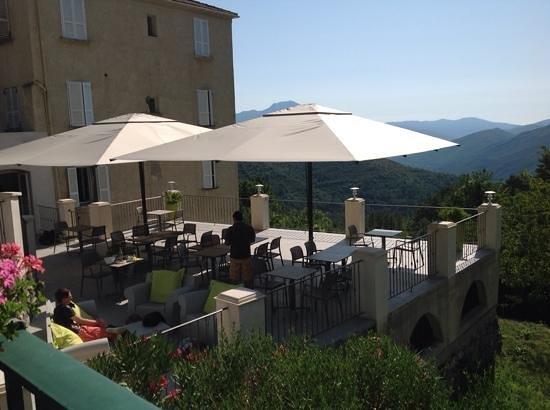 Hôtel U Frascone : Vue panoramique -Terrasse U Frascone