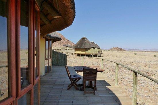 Sossus Dune Lodges: Balcony