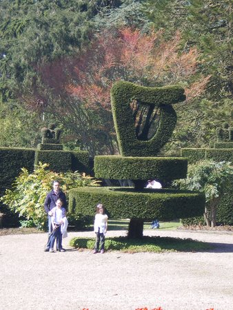 Mount Stewart House: Giant Harp