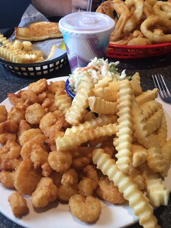 Huot S Seafood Restaurant Inc Fried Shrimp Dinner