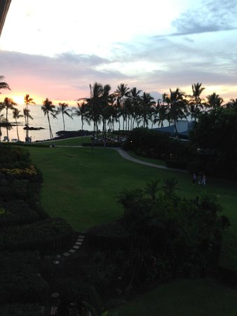 Fairmont Orchid, Hawaii: View from room's lanai