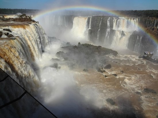 Iguazu Falls : As cataratas ...