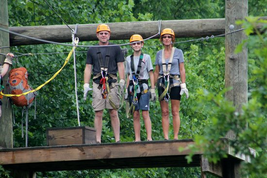 Pigeon River Canopy Tours : Awesome Fun!