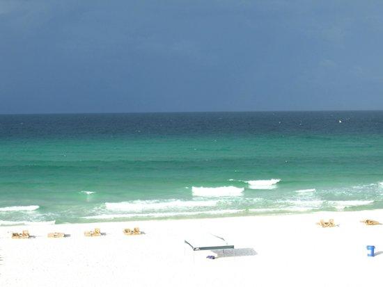 Beachside Resort : View from balcony