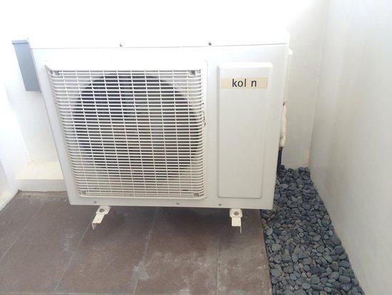 Coron Gateway Hotel & Suites: Air condition