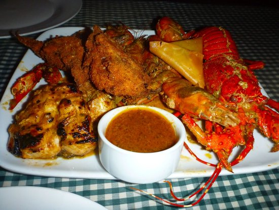 Tofo Tofo: Seafood Platter
