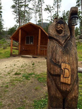 Horse Thief Campground: Home for a day.