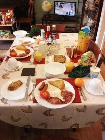 Ballintoy House: Delicious Irish breakfast!!