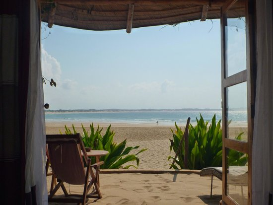 Casa na Praia Tofo: View from the room
