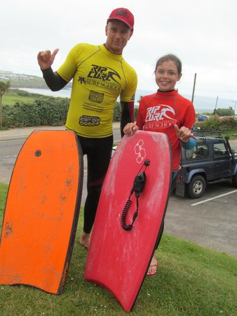 Newquay Activity Centre: With Sam the Instructor