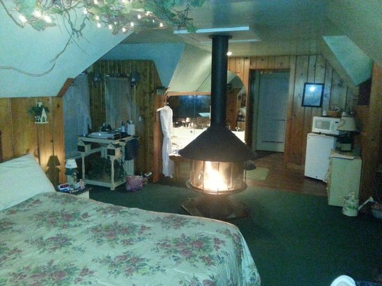 Lazy Cloud Lodge Bed and Breakfast: Enchanted Treehouse suite